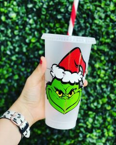 Villainous Holiday Coffee Cups : Grinch Christmas Starbucks Cups