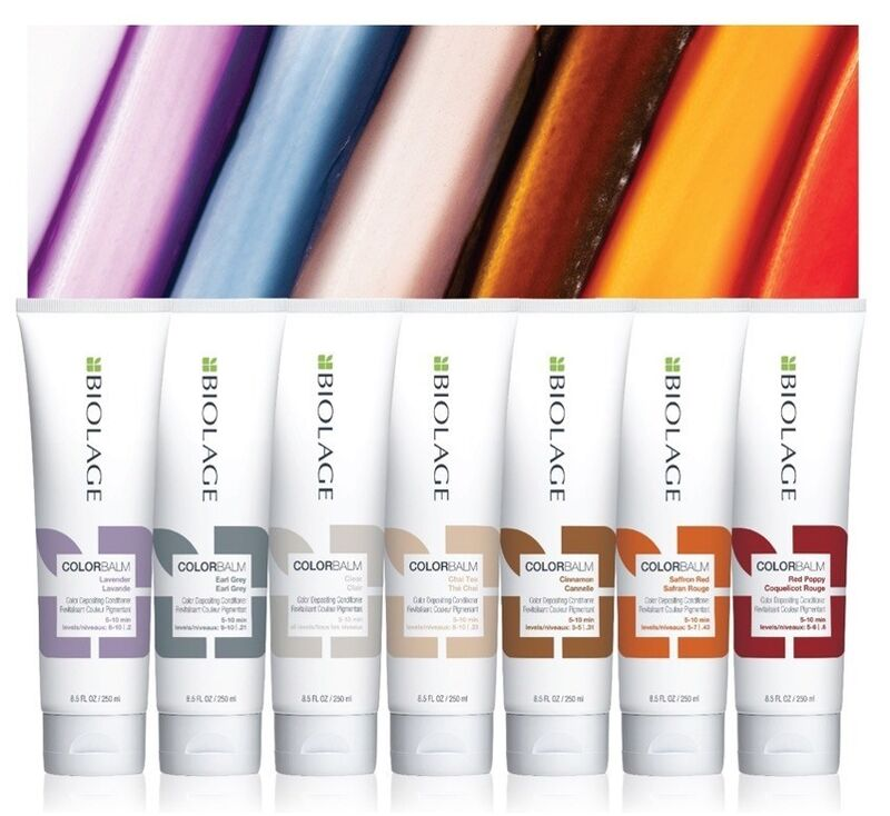 Color-Depositing Conditioning Balms : ColorBalm